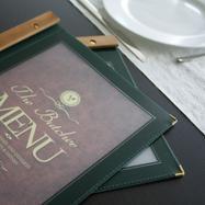 """Carta de menu """"Wood"""""""