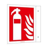 Bandeira de sinalização Extintor