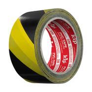 Fita de marcação de piso amarelo/preto