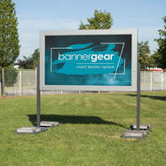 "bannergear® Stand ""Móvel LED"", uma face"