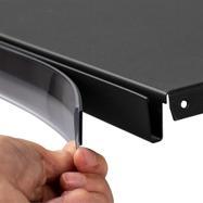 Porta etiquetas DBRU magnético