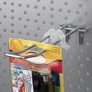 Limitador de stock para ganchos duplos de painel perfurado