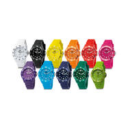 Lolli Clock, relógio de pulso colorido em diferentes versões