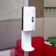 Sensor-Wall – Kit de instalação, dispensador de desinfetante para stretchframes e perfis Quattro de 30 mm
