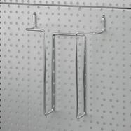 Porta folhetos para painel perfurado 4 mm