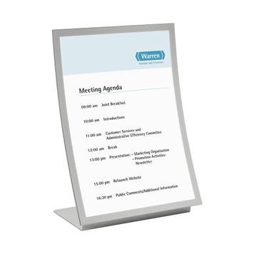 Duraview Table A3/A4, utilizável nos formatos vertical e horizontal