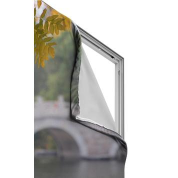 Banner impresso digitalmente para strechframe em alumínio