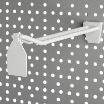 Clipe oscilante para ganchos duplos de plástico