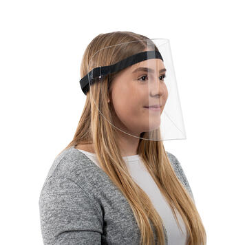 Viseira de proteção facial