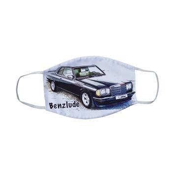 Máscara de proteção respiratória com impressão por sublimação