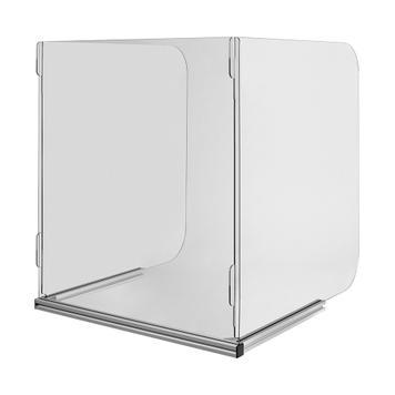 Barreira de proteção móvel para mesas