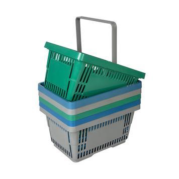 Cestos de compras de material reciclado