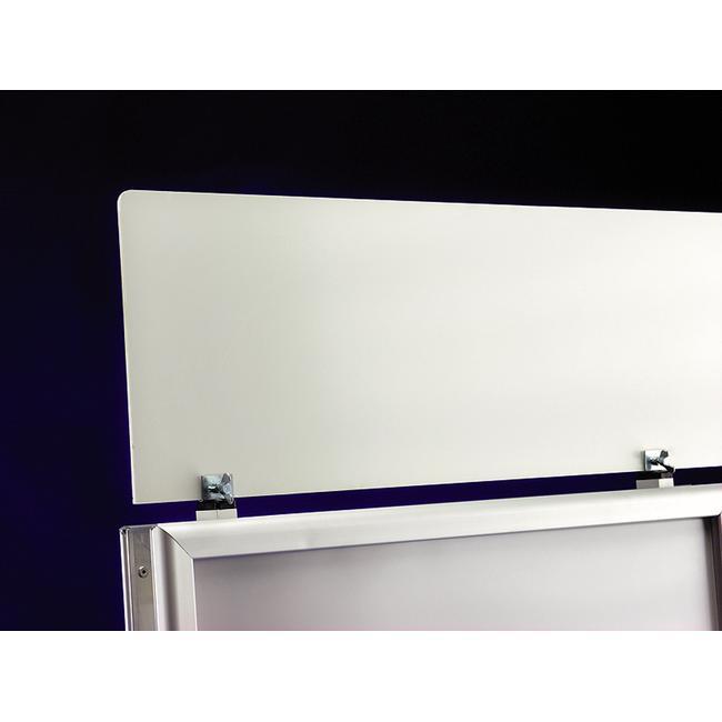 """Placa de cabeçalho para suporte para póster da série WindSign """"Economy II"""""""