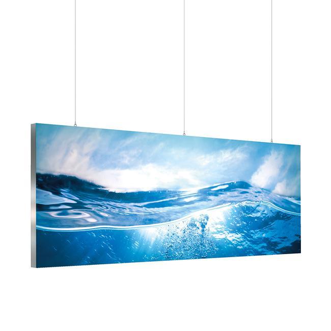 "Parede iluminada LED ""Octalumia 120"" versão teto"