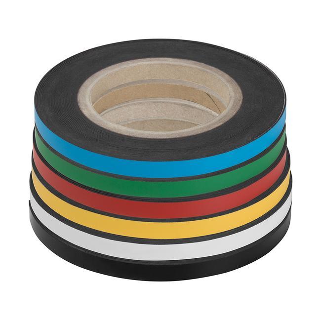 Fita magnética, colorida