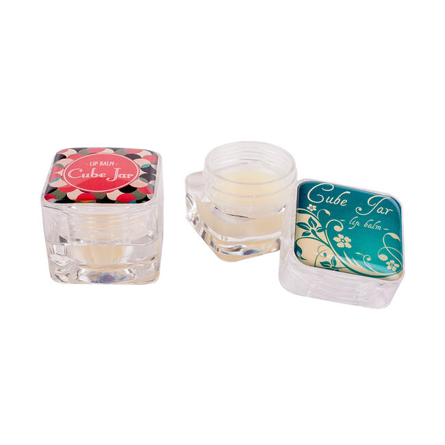 Cuidado labial no Lipcare Cube como artigo publicitário