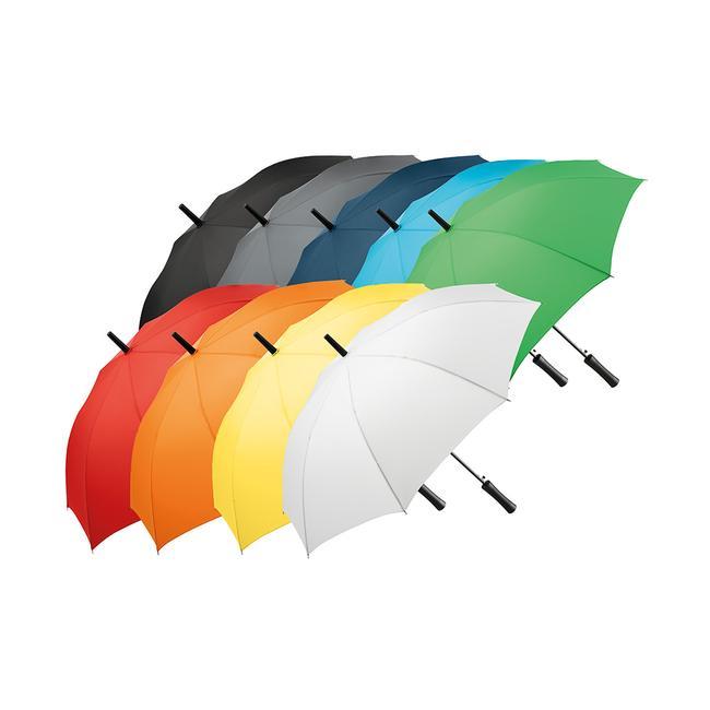 Guarda-chuva AC com punho reto, colorido