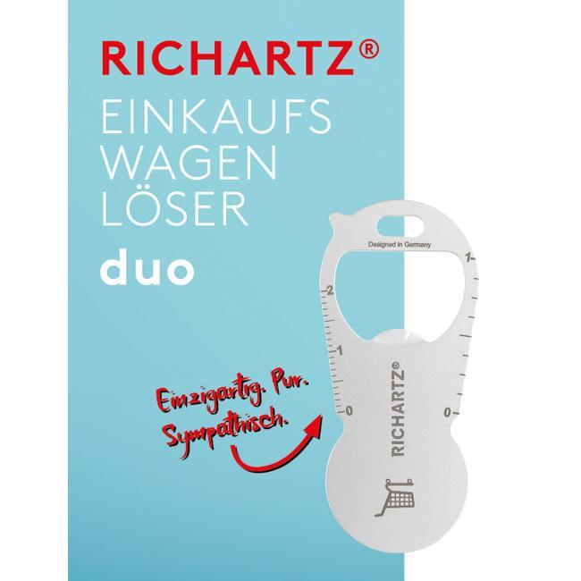 """Ficha para carrinho de compras """"Duo"""" da RICHARTZ"""