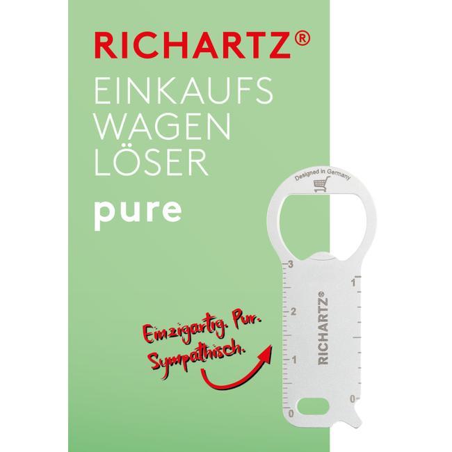"""Ficha para carrinho de compras """"Pure"""" da RICHARTZ"""