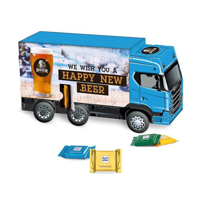 Calendário do Advento camião da Ritter Sport