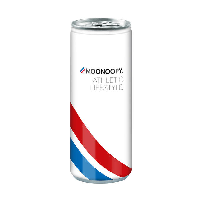 Bebida energética em lata