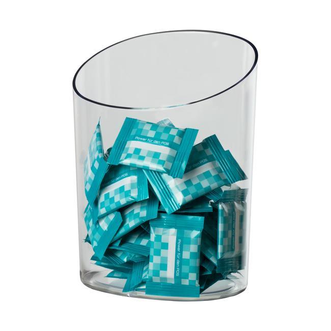 Caixote de lixo em plástico