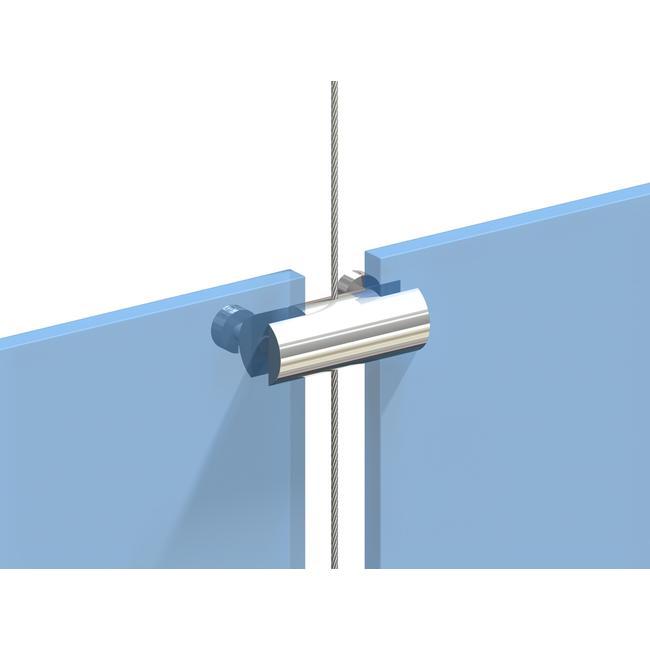 Guia do cabo para suporte duplo