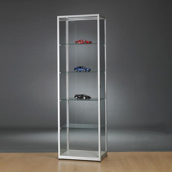 """Vitrine de vidro """"600"""" ou """"800"""" sem iluminação"""