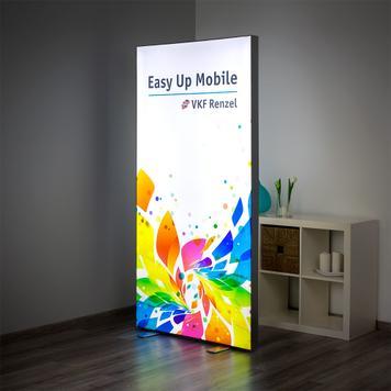 "Parede iluminada LED ""Easy Up Mobile"""