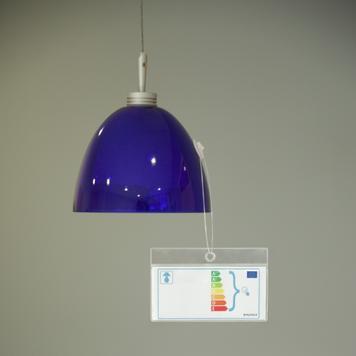 Capa protetora para rótulo energético para pendurar