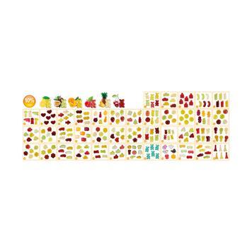Gomas em mini pacotes
