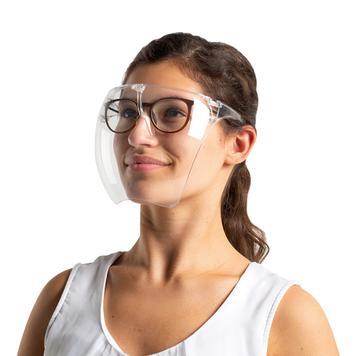 """Viseira facial tipo óculos """"Visery"""""""