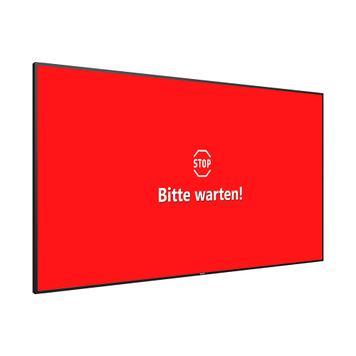 """Sistema de controlo de entrada com monitor de sinalização digital de 32"""""""