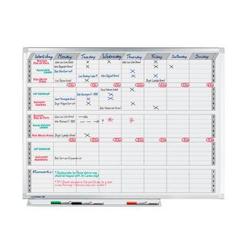 Conjunto de planificação semestral, anual